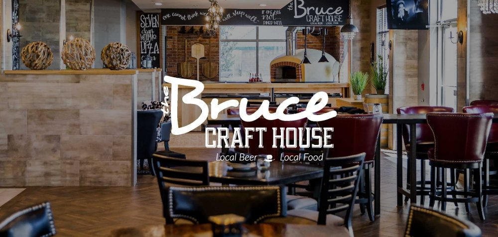 The Bruce Craft House. Local Beer. Local Food
